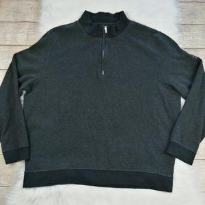 Carnoustie Golf Sweater 1/4 Zipper Size XL